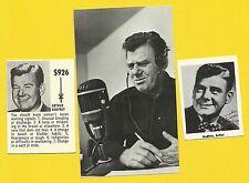 Arthur Godfrey Ukelele  Fab Card Collection The Old Redhead Radio & TV Announcer