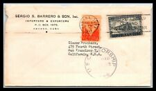 GP GOLDPATH: CARIBBEAN COUNTRY COVER 1944 AIR MAIL _CV523_P20