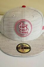 7 1/2 New Era St. Louis Cardinals Team Out Heather 59FIFTY Fitted Cap