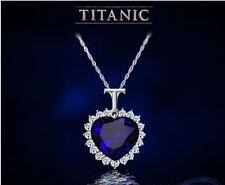 Herz des Ozeans mit blauen Kristall und Strass Titanic