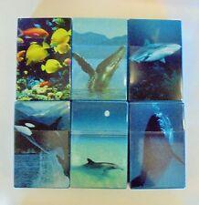 4 Plastic Flip Open Sea Cigarette Boxes Fits Kings - 3114D18