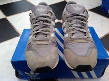 VINTAGE Adidas Originals ZX700 SUEDE MESH GRIGIO BIANCO-UK9 - 2004 Us Colore Way