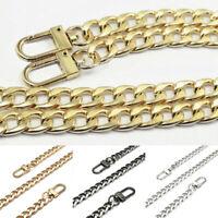 DIY Purse Bag Strap Crossbody Replacement Shoulder Handbag Handle Metal Chain