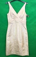 Next Ladies Dress Sleeveless Blush Pink Silk Occasional Size 8 New with Tags