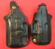 Black Leather RH Holster for Glock 26,27,33 formed molded, NEW