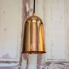 Copper Pendant Light by Bloomingville - Industrial Ceiling Light Fitting NEW