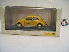 """VW 1200 Export """"Deutsche Bundespost"""" 1951, yellow, Minichamps 1:43, OVP"""