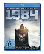 1984 George Orwell John Hurt Richard Burton BLU-RAY Import NEW - USA Compatible
