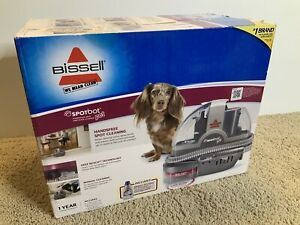 NEW BISSELL 33N8 SPOTBOT PET CARPET SPOT STAIN UPHOLSTERY CLEANER NIB 0634733