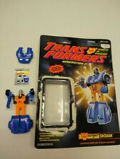 Transformers G2 Skram Generation 2 Autobot with card