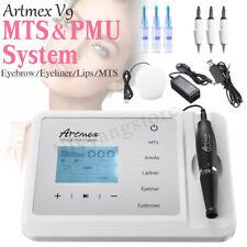 MTS PMU System Artmex V9 Permanent Makeup Tattoo Pen Machine Eye Brow Lip Rotary