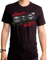 The Boondock Saints A Fire Fight Connor Murphy MacManus Movie T Shirt BDS0029
