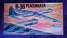 Monogram 1:72 Convair B-36 PEACEMAKER Model Kit #5703 Revell COMPLETE UNSTARTED