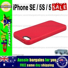 Genuine Speck Case Cover For iPhone SE 5S 5 Pixel Skin Strong Tough Slim Red
