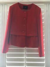 New Steffen Schraut Red Tailored Jacket size 38