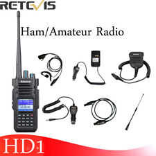 DMR Portable Ham Radio Ailunce HD1 Walkie Talkie UHF+VHF IP67 VOX 3200mAh