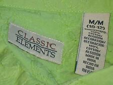 CLASSIC ELEMENTS 100%CottonS/sLimeGreenShirtSz10-12