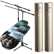 Rode NT5 MP Paar Mikrofon Set  inkl 2 x KEEPDRUM Mikrofonständer + 2 x XLR Kabel
