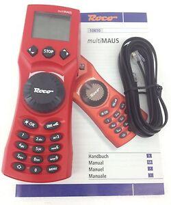 Roco 10810 Multimaus Handregler mit Verbindungskabel 10756 - NEU