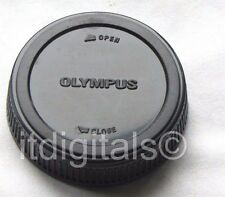 For Olympus Rear Lens Cap Safety Dust Cover OM Series Camera OM1 OM10 New