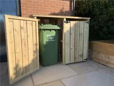 More details for empire double wheelie bin store pressure treated