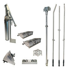 "Pro Platinum Drywall Tools Finishing Set of w/ 8"" and 10"" Flat Boxes"