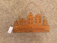 Sagedecor Merry Christmas Hanger BNWT