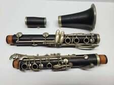 Antique Berteling Bb Grenadilla Boehm System Clarinet & Case for Parts/Repair