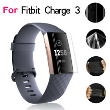 9H Explosion-proof TPU HD Full Cover Screen Protector Film For Fitbit Charge 3