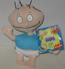 """1997 Rugrats """"Tommy"""" Bean Bag Doll Licensed by Applause 5.5"""" Tagged"""