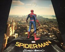 Tom Holland Spider-Man Homecoming Signed 11x14 Autographed Photo COA SM TH Proof