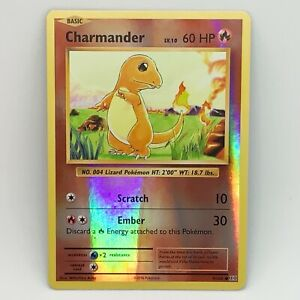 Charmander 9/108 - Reverse Holo - XY Evolutions - Pokemon Card - NM