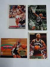 Lot de 4 cartes Basket NBA Dennis Rodman