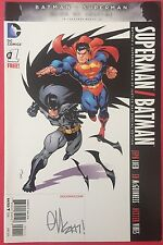 Superman/Batman (2016) #1 - BvS: Dawn Of Justice - Signed By Ed McGuinness - DC