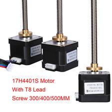 BIQU Nema17 Stepper Motor Screw 17H4401S 42 Motor T8 Lead Screw 300/400/500MM