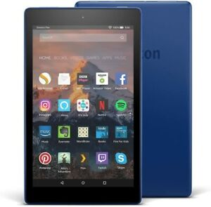 Amazon Fire HD 8 SX034QT 16GB, Wi-Fi, 8 inch - Marine Blue - with Special Offers