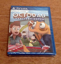 Octodad Dadliest Catch Vita Physical Copy Limited Run Games Rare Sold Out NEW