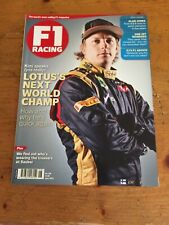 F1 Racing Magazine June 2012. Kimi Raikkonen