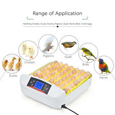 Household 56 Eggs Incubator Auto Digital Temperature Control Poultry Hatcher
