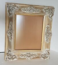 2 Gorgeous~Vintage~Layered~ Gilt~White Wash~Painting Picture Frames~Fits 8X10