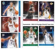 Cromos de baloncesto de coleccionismo temporada 2012