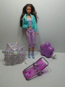 Rain or Sun Terasa Friend of Barbie Doll 1990 Mattel Vintage