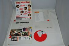 ONE DIRECTION PICTURE BOOK TAKE ME HOME w/ sticker CD