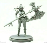 Pinup Weaponsmith Model for Kingdom Death Game Resin Figure Recast 30 mm