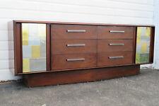 Paul Evans Cityscape Style Mid Century Modern Dresser Credenza by Lane 9978