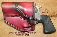 """Gary C's Avenger OWB Left Hand  """"XH"""" Holster RUGER NM Blackhawk 3-3/4"""" Leather"""