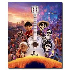 Coco 24x20inch Kids Movie Silk Poster Art Print Wall Decoration Cool Gifts