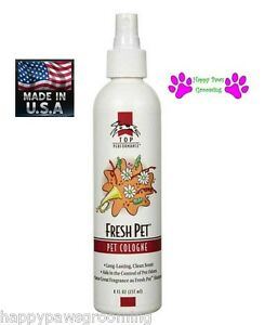 Top Performance PRO Grooming FRESH PET Dog Cat Cologne&Deodorant MIST Pump Spray