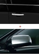 New Mitsubishi LANCER CHROME SET: MIRROR COVERS + DOOR HANDLES w/fast key