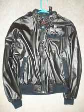 HOT AUGUST NIGHTS RENO NV ANTIQUE CAR/HOT ROD '86 SHOW & SALE BLACK LARGE JACKET